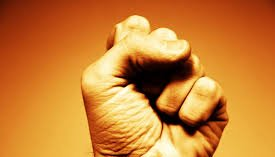 clinched fist for Embrace Failure and Find Your Power post by Annette Segal