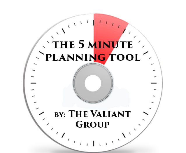 5-Minute Planning Tool