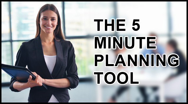 5-Minute Planning Tool